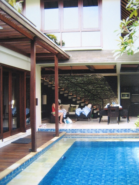 Le Jardin Boutique Villa, Kuta-Bali. SQM MIX